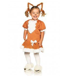 Wonderland Playful Fox Meisje Kostuum