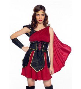 Woest Aantrekkelijke Amazone Krijger Troje Vrouw Kostuum