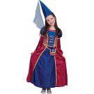 Middeleeuwen Fleur De Lis Hofdame Meisje Kostuum