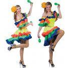 Braziliaanse Samba Dame Samba-Era Vrouw Kostuum