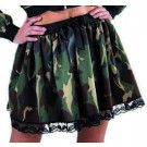 Leger Camouflage Rok Hot Jungle Vrouw