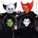 Halloweenmasker Kind Met Cape En Kraag