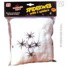 Spinneweb 100gram Met 5 Spinnen