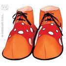 Malle Clownschoenen Rood