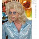 Pruik, 70s Man Blond