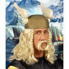 Pruik Viking Met Snor