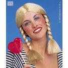 Pruik, Wendy Blond